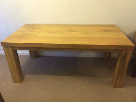 100% Oak Dining Table