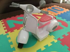 Baby motorcycle for dolls (can play music)