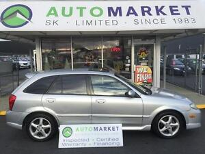 2002 Mazda Protege5 LEATHER, AUTO, SUNROOF, ONLY 116KM!!