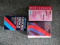 Dictionaries and books