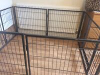 Dog Health professional puppy /dog pen + 2 extra pannels