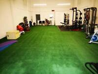 Health/fitness facility available to rent on sundays only.