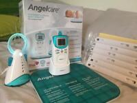 Angel care baby monitor with heart sensor