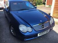 2003 Mercedes-Benz C Class C200k SE 1796cc Supercharged Petrol Manual 6 Speed 3 Door Coupe