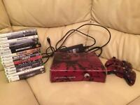 Xbox 360 500gb with 15 games