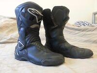 Motorcycle Boots Alpinestars 46