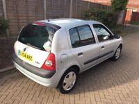 2004 Renault Clio Expression - 5 Door - 1.1 Petrol Manual 49k MILES