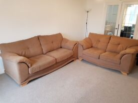 3 + 2 Seat Sofa Suite (Reid), Good condition and very comfortable
