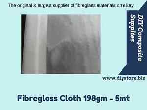 200gm/6oz Fibreglass Cloth 1mt. wide - 5mtr pack (FREE FREIGHT) For Epoxy & Poly