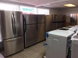 Refrigeraters /stoves / washers/ dryers 1 YEAR WARRANTY!