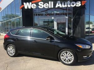2015 Ford Focus Titanium LOW KM *BTOOTH *LTHR *NAV *CAM *SYNC