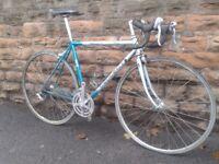 Original PEUGEOT Competition 400 Columbus Mavic Road Bike Racer Spares or Repairs