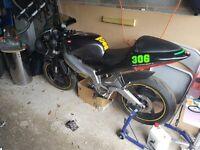 Aprillia RS125, needs engine