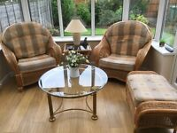 Conservatory furniture 4 piece