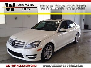 2013 Mercedes-Benz C-Class 4MATIC SUNROOF LEATHER 96,214 KMS