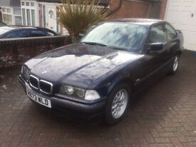 BMW 316i COUPE AUTOMATIC 1998 METALIC BLUE