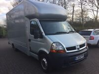 Renault Master 3l,140DCI,2005.Box Luton Van with tail lift, 1 owner from new,fish,drive 100%