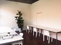 ☼ Creative Studio w/ Natural Light Ideal for Creative Professionals ☕ Super Fast Wifi ☕ 24/7 Access