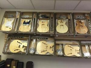 DIY Guitar Kits - The largest selection of Do it Yourself Guitars