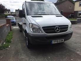 Mercedes sprinter recovery truck new body low miles