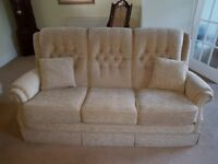 Two Julian Foye Vale Amalfi Settees. Less than 2 years old and in excellent condition.
