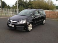 2006 VAUXHALL ZAFIRA 7 SEATER FULL YEARS MOT IMMACULATE CONDITION FSH