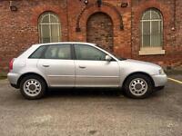 2002 Audi A3 TDI 1.9 Diesel. Long Mot. Drives Superb. Full MOT