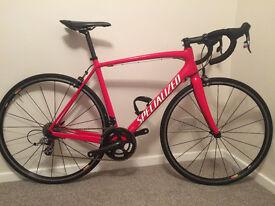 Specialized Tarmac Expert SL3, SRAM Red, S-Works, 56cm, 2012 rare Team colours
