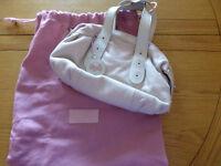 Genuine Radley bush pink small barrel style handbag
