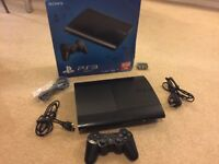 PS3 Super Slim 500GB PlayStation and Games