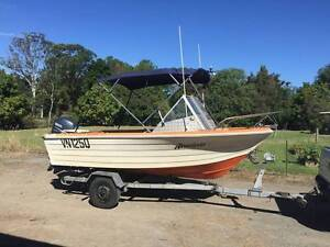 4.6m Yalta Craft with 60hp Yamaha 4 Stroke Palmwoods Maroochydore Area Preview