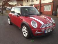 Mini Cooper 2004 red 1.6 petrol