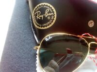 RAY Ban Aviator gold rim unwanted gift