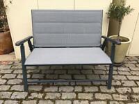 Sold! Foldable metal Garden Bench