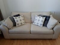2 Seater Couch - cream
