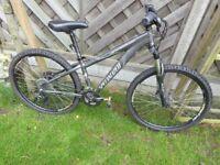Specialised / Specialized Graphite Grey XS HardRock Sport Mountain Bike - Great Bike Good Condition