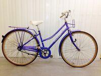 Caprice Raleigh city bike.. three speed hub gears hand operated Breaks