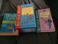 Set of 2nd Hand Roald Dahl Paperback Books