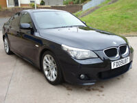 2009 BMW 5 SERIES 2.0 520D M SPORT BUSINESS EDITION 4d AUTO 175 BHP + NAVIGATION SYSTEM +