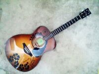 Sold Limited Edition Brand New Yamaha FS-800 PLUS Fishman Presys Blend 301 Electro Acoustic Guitar