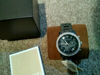 Micheal Kors Blue ceramic with crystals