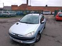 PEUGEOT 206 1.4ltr HDI_5dr ( DIESEL) *** £30 ROAD TAX /YEAR - LOW MILES ***