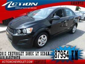 2012 CHEVROLET SONIC LT LT,SEDAN,AIR,BLUETOOTH