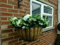 Hanging basket ( artificial)