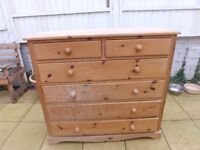 Wooden Chest Draws
