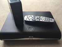 Sky HD box and hub