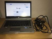 HP Elitebook 8460p laptop with charger