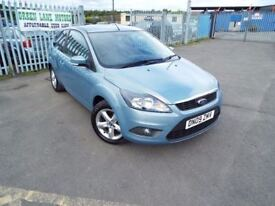 2009 FORD FOCUS 1.6 ZETEC 3 MONTH WARRANTY 12 MONTH MOT PX WELCOME **FINANCE AVAILABLE**
