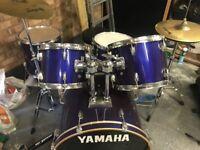 5 Piece Yamaha Drum kit.
