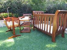 Beautiful quality Gro-years cot, cradle and change table Carlingford The Hills District Preview